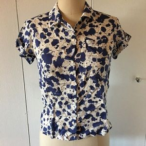 Diane Von Frustenburg- SZ XS -  button down